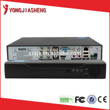 Universal H.264 Top sale 4ch cctv tvt dvr Support P2P YJS-104DVR