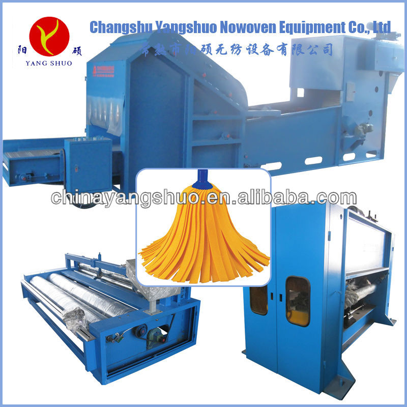 non woven cleaning cloth making machine
