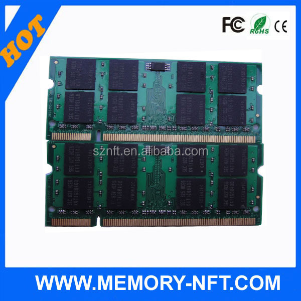 (Memory) 4GB 800mhz 200p PC2-6400 DDR2 SODIMM ram memory ddr2 4gb laptop price
