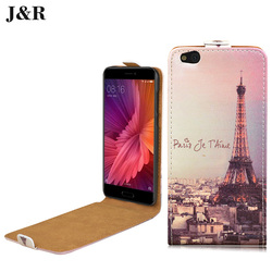 J&R Brand Leather Case For Samsung Galaxy S4 SIV I9500 Flip Cover Vertical Magnetic High Quality 4 Colors Free Shipping
