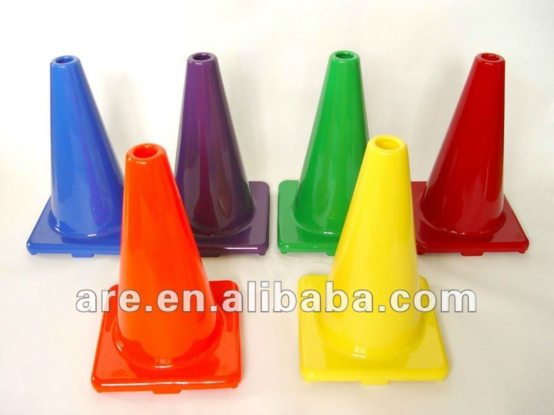 Colorful PVC Traffic Cone