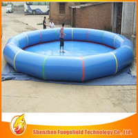 customized outdoor plastics swimming pool standard swimming pool size for sale