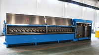 8 wires-multiwire drawing lines copper wire drawing machine wire and cable making equipment