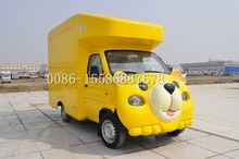 Save up to 500USD factory price snack customized mobile fast food truck
