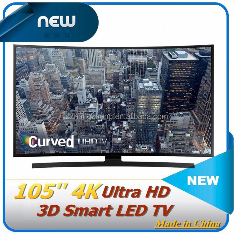 OEM/Cheap tv Curved 100 inch - LED TV - Smart TV - 1080p (FullHD) -- black