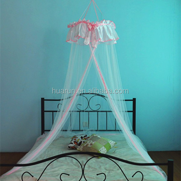 sweet pink mosquito net for princess bed