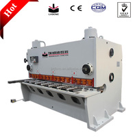 LVD CNC Q11Y/K hydraulic mini stainless steel shear machine,hydraulic mini shear machine