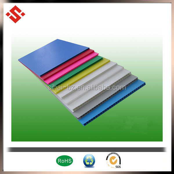 wholesale price pp foam board/pp corrugated sheet