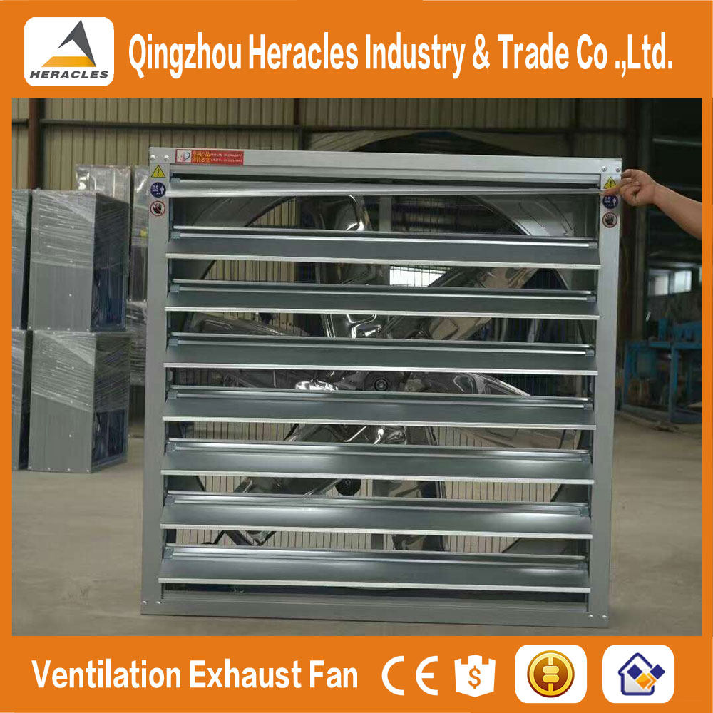 Trade Assurance factory price poultry farming equipment HE- drop hammer exhaust fan for industrial workshop