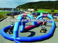 kids inflatable race track
