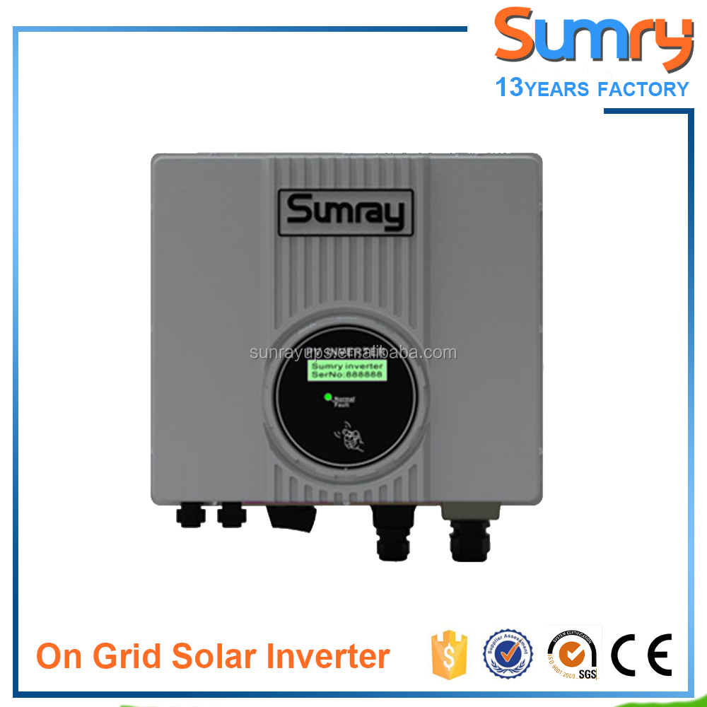 China Supplier 1KW 2KW 3KW 4Kw 5KW Single Phase Grid Tie Inverter for Solar System