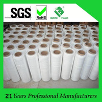 LLDPE Stretch Wrapping Film, White Transparent Jumbo Stretch Film for Packaging