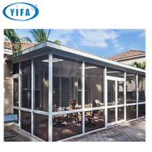 China DIY commercial modern glass sun house