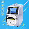Food Grade High Torque And Low Pressure Stepper Motor Peristaltic Pump With Silicone Tubing