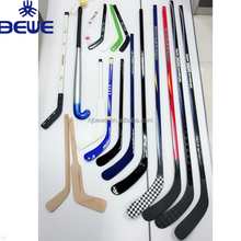 2018 new wood/plastic/composite/fiberglass/carbon hockey stick custom
