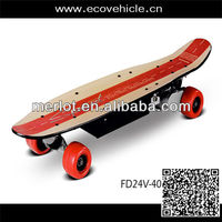 Skateboard with pu wheel and seagull truck
