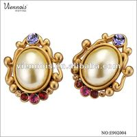 Fashion Gold Earrings New Model 2012 Alibaba Express