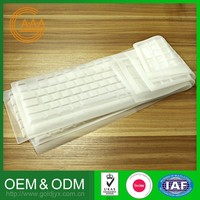 New Style Factory Direct Price Oem Silicone Keyboard Cover Various Shapes Customized Silicone Keyboard Cover