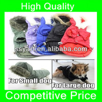 2013Pet Clothing Dog Coats for Small Large Big Dog Winter Clothes Hoodie 5 Colors