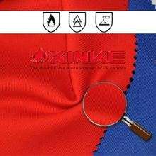 EN14116 high tenacity cvc 80/20 flame retardant anti-static twill fabric for industrial textiles