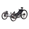 New Model Three Wheel Outdoor Racing Disc Brake Lithium Battery Recumbent Trike, Electric Colorful Recumbent Tricycle