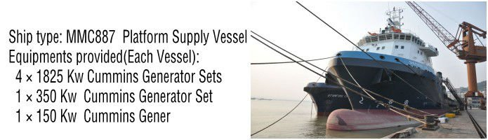 CSCPower-with cummins engine-Marine-Diesel-Generator-Sets-Successful-Cases-1