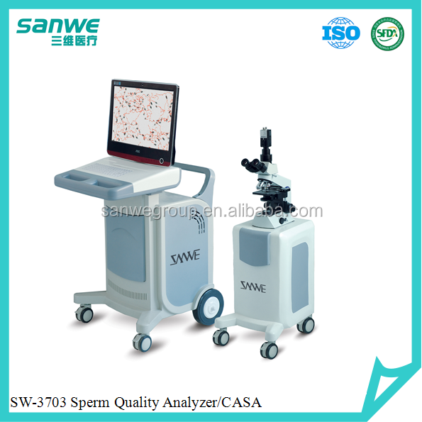 Male Fertility Test Semen Analyzer,High performance quality analyzer,Sperm Analysis