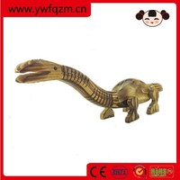 wood carving dinosaur toy animals