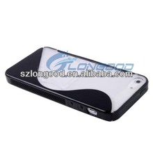 Clear TPU S-Line Back Case Crystal Soft Protective Skin Cover Shell for iPhone 5