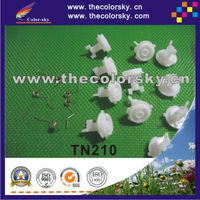(TN210 gear) plastic reset lever flag flaging gear wheel and spring for Brother TN210 tn230 tn240 tn270 tn290