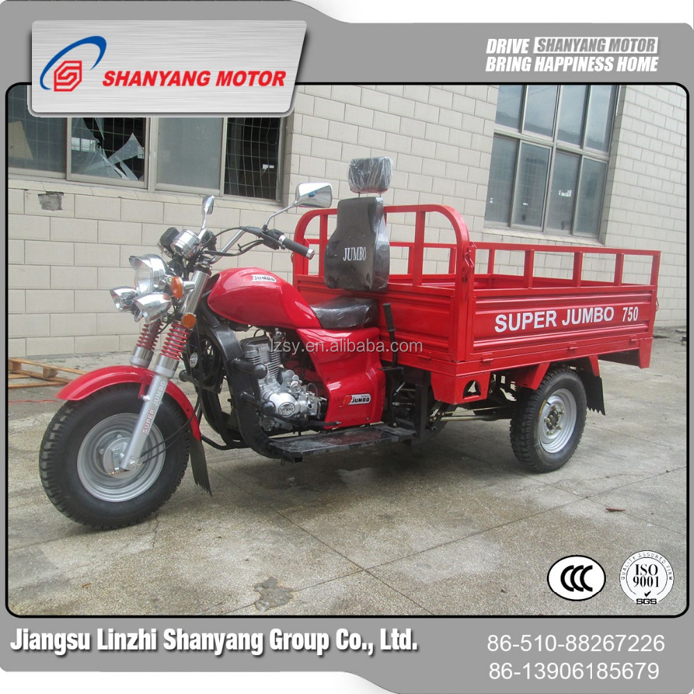 three wheeler for handicap/cheap import motorcycles/cargo tricycle with cabin