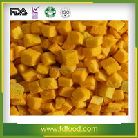 Freeze dried pumpkin with healthy and best quality fresh vegetables
