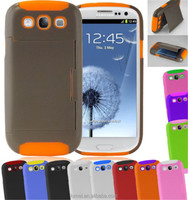 New Dual Stand & Credit Card Armor Hard Case Cover For Samsung Galaxy S3 i9300