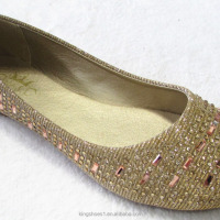 Fancy Sparkling Women Round Toe Ballerina