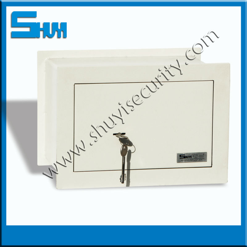 hidden mechanical laser cutting wall safe security box mounted in the furniture, wall for home decoration