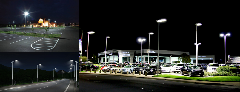 Newest parking area 300w 350w led parking lot lighting, 5 years warranty Meanwell driver led shoebox parking lot light