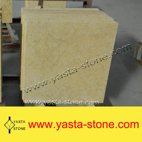 Wholesale Cheap Sunny Yellow Marble Tile