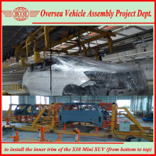 set up suv car manufacturing assembly line in Africa