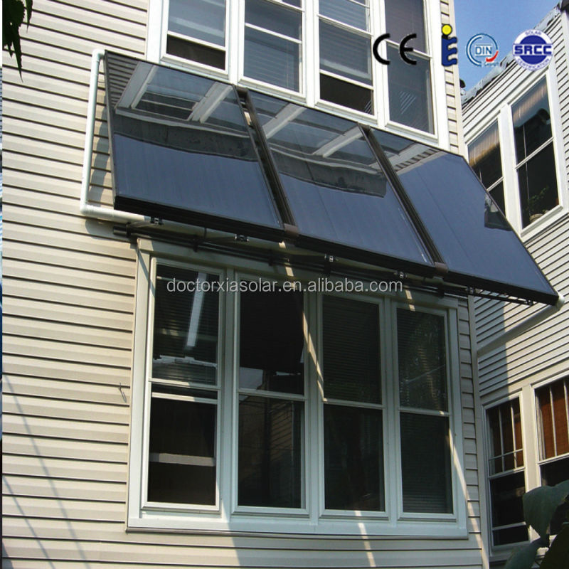 300 Liter Separate Pressurized Solar Water Heater System Balcony with Flat Panel