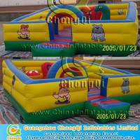 Inflatable fun city , inflatable trampoline park for sale