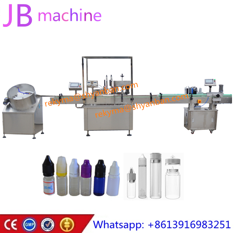 JB-Y2 e-liquid filling machine filling peristatic pump for 10ml 60ml 120ml e cig liquid e juice