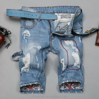 2015 wholesale spot can also be customized extra durability Men's Rugged Wear Big Tall Relaxed Fit mens denim shorts