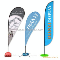 hot sell banner flags, custom printed teardrop flag, advertising flag banner feather flag