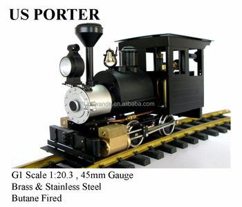 US Poter 0-4-0, Live Steam locomotives (Brass made)