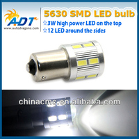 Hiway auto led parts high power 12w 5630 smd led s25 1156 ba15s p21w auto led turn light car accessories