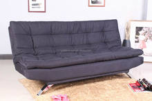 Futon Fabric Sofa Cum Bed with Double Size Mattress