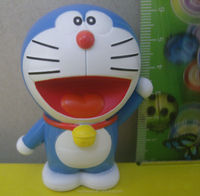 10 years OEM factory Custom plastic cartoon figure toy Doraemon