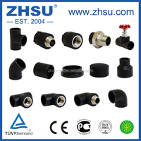 ISO4427,AS/NZS4130 sdr 11 hdpe pipe fitting hdpe