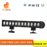 super bright16200lm 120w crees car roof rack led light bar for 4x4, offraod, truck