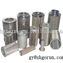 Oil Water Filte Water Treatment Element Chemical Thread Filter Cartridge